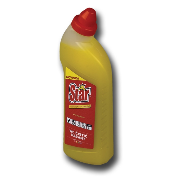 STAR WC čistič razant 750 ml